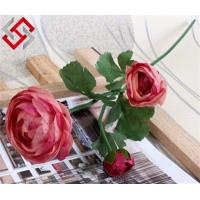 Quality Artificial Tea Rose Floral Flower Christmas Home Decoration and Bonsai for sale