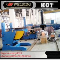 Buy cheap Lifting Height Adjustable Pipe Welding Rotary Positioner High Precision 300kg Manual Revolve from wholesalers