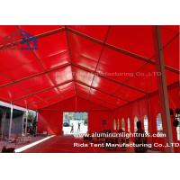 Buy cheap Red Aluminum Truss Roof Systems , Beautiful Dj Lighting Truss Systems from wholesalers