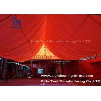 Buy cheap Aluminum Outdoor Concert Truss Stage / Heavy Duty Square Truss System from wholesalers