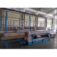 Quality PLC OGEE Glass Beveling Equipment , Glass Processing Plant With Pneumatic Polish System for sale