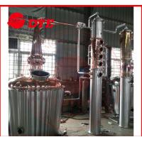 Quality 350L Micro Home Alcohol Distiller Apparatus , Copper Distillery Equipment for sale