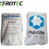 Spherical beads Sulphonic acid C-100E Purolite Resin ion Exchange resin for sale