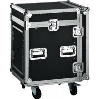 Quality Black Wooden Standard Rack Flight Case / 16U Flight Case / Storage Case for sale