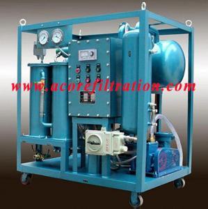 Quality DVTP High Vacuum Transformer Oil Filter Machine for sale