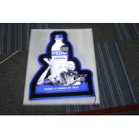 Quality Fashion Shape Acrlic Light Boxes With Customer's Design for sale