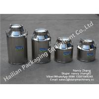 Buy cheap Stainless Milk Bucket Stainless Steel Milking Bucket Heat Preservation Transport from wholesalers