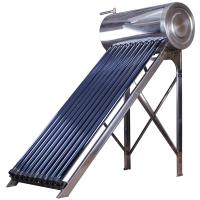 China heat pipe compact pressurized solar water heater 100liter on sale