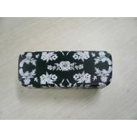 Quality Custom Safety Clamshell Eyeglass Case PU / PVC / Cloth Outside Material for sale