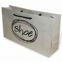 Quality Luxury Rope Handled Paper Carrier Bag, Available with Matte Lamination Finish for sale