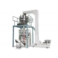 Quality Pneumatic Automatic Vertical Packing Machine , Sugar Packing Machine With Scale for sale