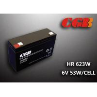 Quality HR653W 6V 13AH Valve Regulated Lead Acid Battery Maintenance Free For Alarm System for sale