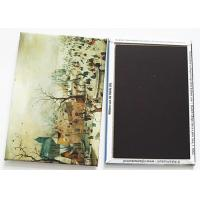 Buy cheap Artwork Small Tinplate Fridge Magnet 54 X 78 Mm Size Art Paper Material from wholesalers