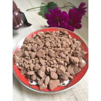Quality Solid Alkalised Cocoa Powder Cake Negative Pathogenic Bacteria With Bag Packaging for sale