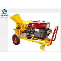 China Mobile Modern Agriculture Machine , Fire Wood / Pallet Wood Chipper Machine on sale