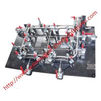 Quality Sheet Metal Stamping Welding Jig Fixture Car Seat Customized Precision Products for sale