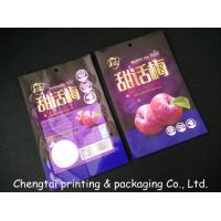 Quality Semi Vmpet Laminated Dried Fruit Bags , Recyclable Dry Fruit Bag Non - Leakage for sale