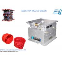 Quality Custom House Hold Plastic Injection Molds Red Color Durable Spare Parts for sale
