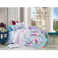 Quality Colorfule 4 Piece Bedroom Bedding Sets , Butterfly / Flower Printed Bedding Sets for sale
