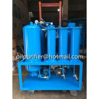 Quality aging turbine oil recycling system,used turbine oil filtration facility,breaking emulsification,dehydration,degas,China for sale