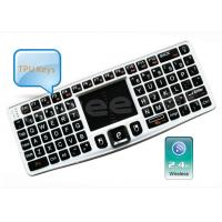 Quality 2.4Ghz Mini Backlit Wireless Keyboard with Touchpad Built-in Detachable -ZW-51007(MWK03) for sale