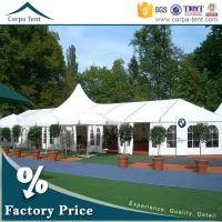 Buy Hot Sale Outdoor Event Tents Colorful Roof Lining Curtain Flooring For Activities at wholesale prices