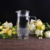 Quality 990Ml Borosilicate Double Wall Glass Tableware Clear Glass Jug For Water for sale