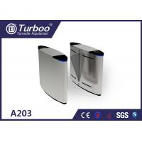 Quality Running Stable Flap Barrier Gate / Turnstile Entry Systems No Mechanical Impact for sale