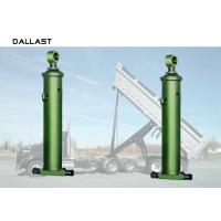 Quality Dump Truck Single Acting Hydraulic Ram Muti Stage 16mpa-32mpa Orking Pressure for sale