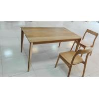 Quality Rectangular Small Dining Table , Solid Elm Dining Table With 4 Chairs for sale