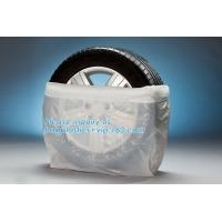 Buy cheap plastic tyre bag,large bag tire bags, disposable hdpe clear plastic pe tyre from wholesalers