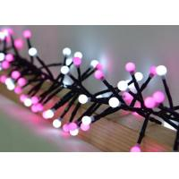 Quality White / Pink Festival String Lights 3 Meters 400 Bulbs With 8 Different Modes for sale