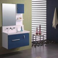 Quality PVC Bathroom Cabinet with Mirror Size of 85 x 12 x 80cm for sale
