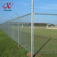 Quality Hot Dip Galvanized Construction Fence Panels , Temporary Security Fence for sale