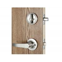 Buy Antique Door Handles Zinc Alloy Fits Right / Left Handed Doors With Interior Lever at wholesale prices