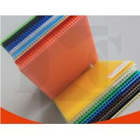 Quality Opaque Aging Resistance PP Flute Board Coroplast Sheets For Packing Boxes for sale