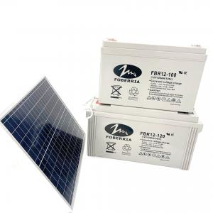 Quality 12V 100Ah 10Hr Deep Cycle Sealed Lead Acid Battery For UPS Solar System for sale