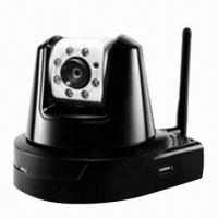 Quality Wireless IP Camera, Built-in USB Port, Provides Convenient and Portable Storage for sale