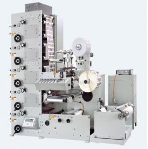 Quality high speed CI flexographic printing press machine flexo label high precision for sale