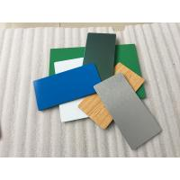 Quality Pearl Blue PVDF Aluminum Composite Panel Heat Insulation For Wall Cladding for sale