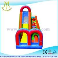 Quality Hansel kindergarten playground equipment,obstacle sport game for kids for sale