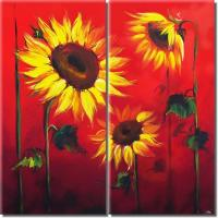 Quality modern painting fruit wine flower picture restaurant painting for sale