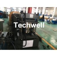 Quality Top Purlin GI Carbon Steel Cold Roll Forming Machine 0-15m/Min 15KW for sale