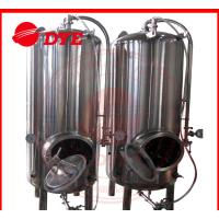 Buy Common 7BBL Steam Bright Beer Tanks Industrial Tri-Clamp Connection at wholesale prices