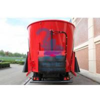 Quality Heavy Duty Mobile Feed Mixer Wagon For Breeding Pasture 185kw Power for sale