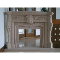 Quality Delicate Carved Fireplace, Indoor Fireplace Mental for Decoration for sale