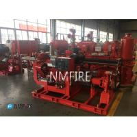 Quality Fire Fighting End Suction Fire Pump , Diesel Engine Fire Pump 500 Gpm@111psi for sale