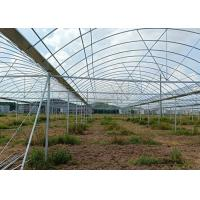 Quality Greenhouse Round ERW Steel Pipe , Hot Dip Galvanized Steel Pipe Good Reliability for sale