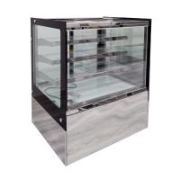 China Stainless Steel Base Refrigerated Bakery Display Case With Secop Compressor on sale