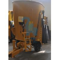 Quality Single Auger Tractor Pulling Type TMR Cattle Feed Mixer Wagon 4635 * 2660 * 2860mm for sale